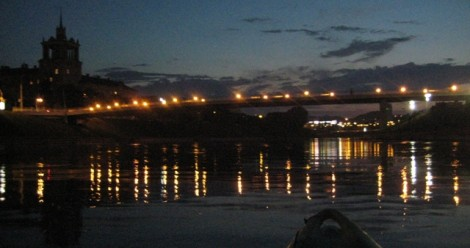 Baidarių nuoma Vilniuje Nerimi nakti