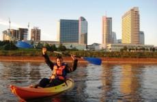 kayak rental Vilnius